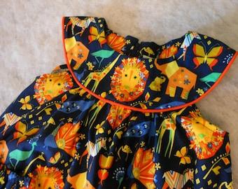 Toddler Dress Origami Pride