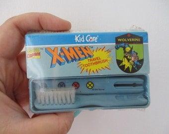 RARE Vintage Xmen Toothbrush - Wolverine 90's Toothbrush