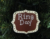 2140 Texas A&M Aggies Ring Day Ornament