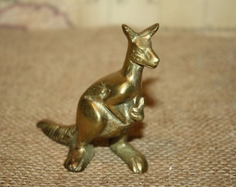 Brass Kangaroo - item #1183