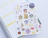 Limited Edition Harry Potter inspired Decorative Life Planner Stickers, Perfect for Erin Condren, Kikki K, Plum Paper, Filofax