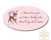 Little Deer Address Labels Loralee Lewis