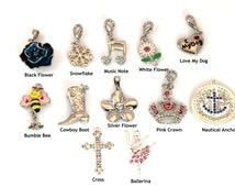 Jewelry Charms - You Pick Charms - Set of 3 or 6 - Pendants - DIY Jewelry