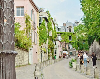 Streets of Paris VIII, Montmartre