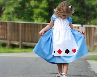 Alice in Wonderland Tea Party Dress/Costume