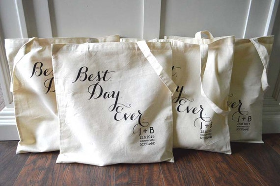 20 Best Day Ever Custom Canvas Destination Wedding Welcome