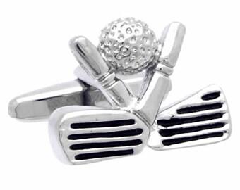 Golf and Golf ball Cufflinks