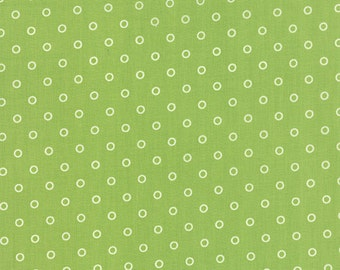ONE YARD Lollies in Green Hello Darling by Bonnie and Camille for Moda