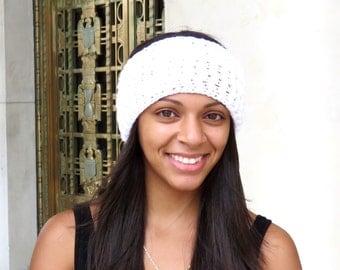 Crochet Headband, Ear Warmer, Green, Women,Teen, Ready To Ship,Ribbed Design