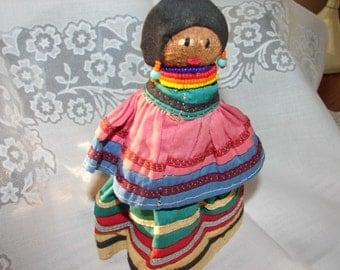 Seminole Palm Fiber Doll