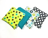 Reusable Snack Bag Perfect For Everyday, Only The Small Blue With Polkadots is Still Available