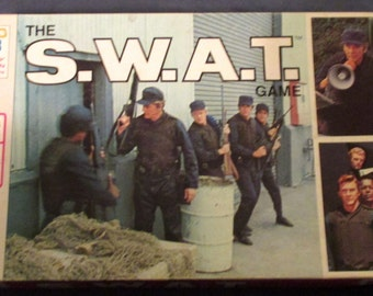 The S.W.A.T. Board Game Milton Bradley dated 1976
