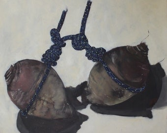Original Oil Painting - Turnips and Ropes