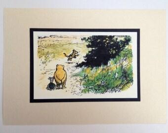 Winnie the Pooh & Friends - Classic Pooh 5x7 Nursery Print