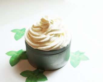 Spearmint Whipped Soap - Scented Soap - Homemade Soap - Vegan Soap - Glycerin Soap - Cream Soap - Christmas Gifts