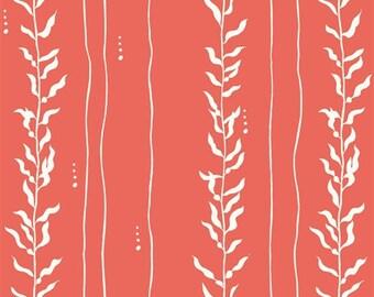 ORGANIC Kelp Coral - Beyond the Sea - Jay-Cyn Designs for Birch Fabrics
