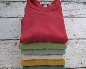 Summer Sale Baby clothes, baby tops, tshirts, various color-hand dyed