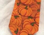 Men's Neck Tie Fall Pumpkin