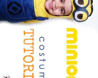 TUTORIAL - minion inspired costume - all sizes - See full Item Details
