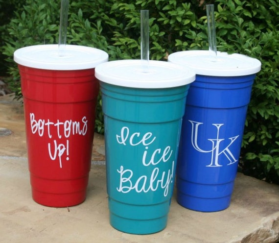 Solo Cup Reusable Personalized Insulated Big Daddy 32 Oz