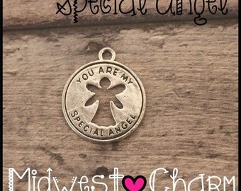 Add on a special angel charm to any item in my shop