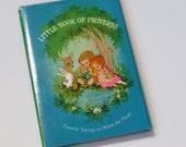 Vintage 1968 Hallmark Little Book of Proverbs ~ Children and Animals
