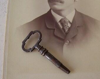 Vintage Skeleton Key Old Clock Key Victorian Key Pendant Gothic Key Steampunk Vintage 1920s
