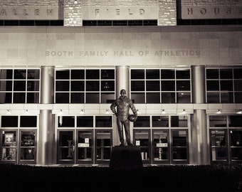 INSTANT DOWNLOAD - Allen Fieldhouse at Night