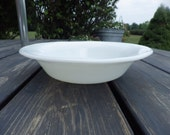 Pyrex Corning Glass Blower Military ware bowl dated 1951