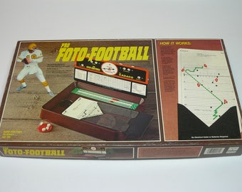 1977 Pro NFL Foto-Football Vintage Board Game Cadaco Strategy Armchair Quaterback
