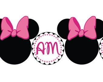 Minnie Mouse High Chair Banner