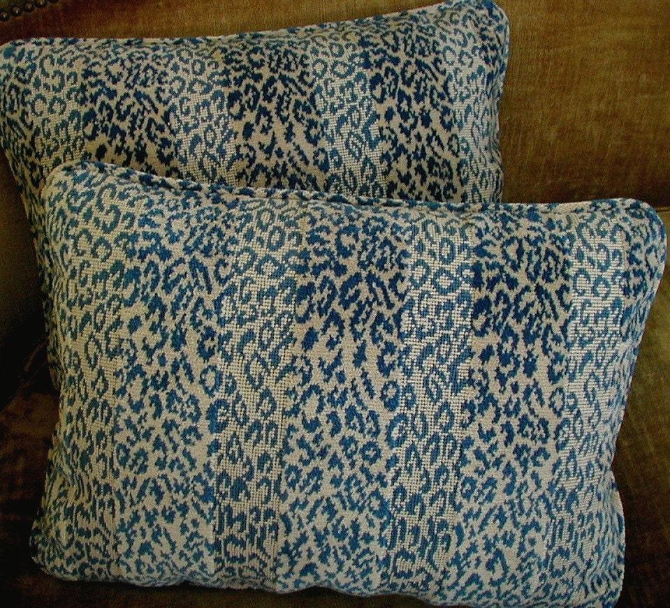 Scalamandre Velvet Epingle Animal Print Fabric Designer Custom