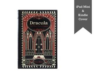 Dracula - CUSTOM iPad Mini cover, iPad Mini case, Kindle cover, Kindle case, Nook cover, Nook case made from a book