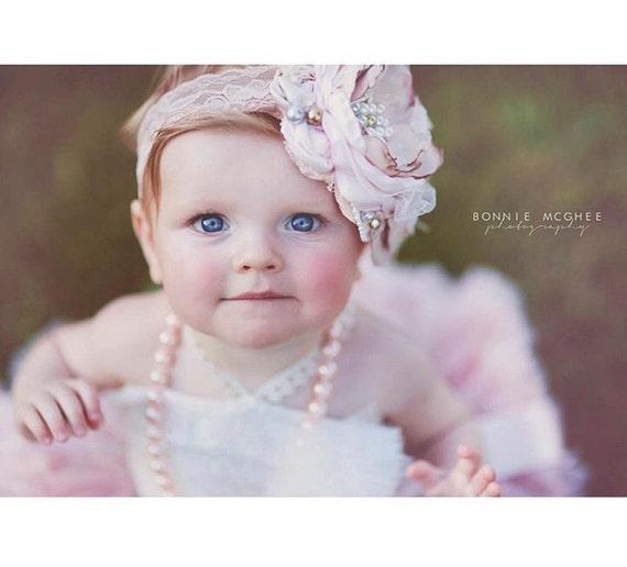 baby flower headband dollcake headband pink hair bow baby flower headband dollcake headband pink hair bow