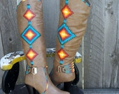 Size 10  Hand Painted Rez Hoofz   Please Read full description below