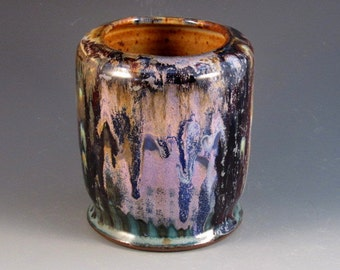 Pottery Vase With Mulitple Colors, Ready To Ship
