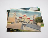SALE - 11 Vintage Alabama Postcards - DAMAGED