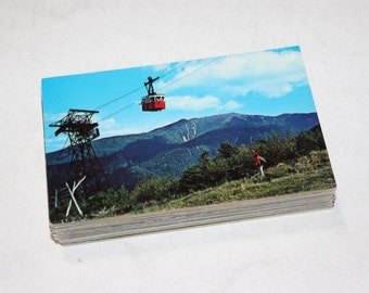 100 Vintage New Hampshire Chrome Postcards Blank - Travel Themed Wedding Guestbook