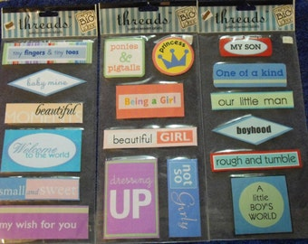 Me and My Big Ideas Jumbo Woven Labels