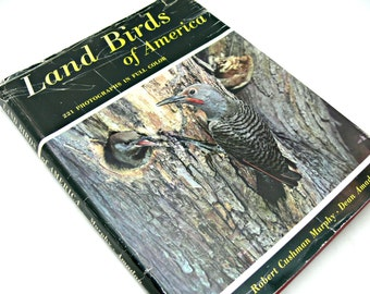 Land Birds of America - American Museum of Natural History First Edition with Eliot Porter Photographs
