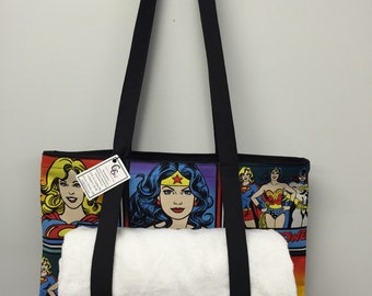 Wonder Woman Carry All Tote