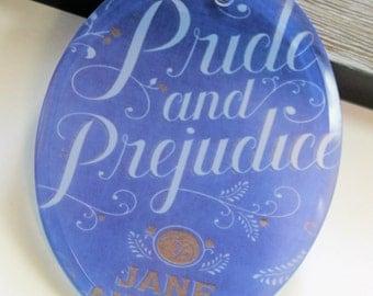 Pride and Prejudice Glass Ornament
