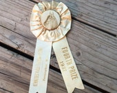 A 1930s Vintage Horse Ribbon That Will Steal The Show