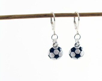Sports Jewelry (Soccer Mom Earrings, Athletic Sports Fan Gift to Show Your Team Spirit)