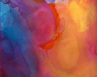 Beauty of Change, Wall Art, Watercolor Art Print