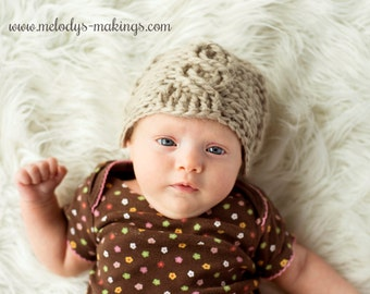 Cabled Beanie Crochet Pattern - All Sizes Newborn, Baby, Toddler, Child, & Adult Included - Instant Digital Download
