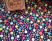Michael Miller 'Play Dot Navy' 100% cotton fabric