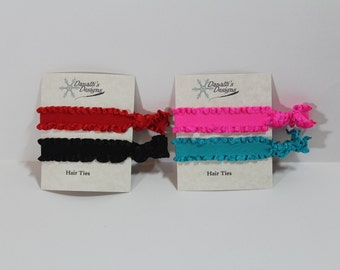 Ruffled Hair Ties