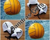 Crochet waterpolo hat