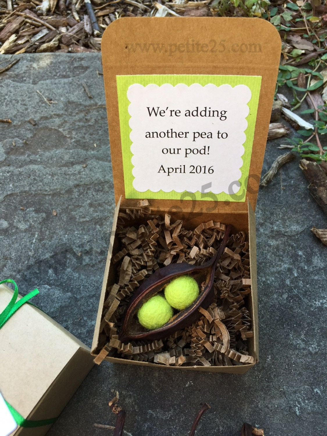 Another Pea in our Pod Pregnancy announcement baby – Sweet Pea Designs Baby Announcements
